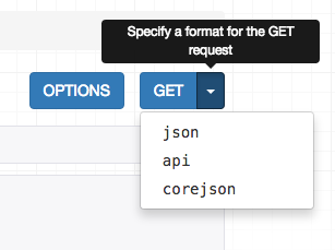 corejson 显示选项